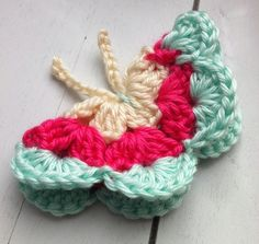 Crochet butterfly :: free crochet patterns :: finecraftguild.com