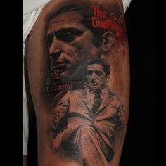 Laura Juan le Tatouage #Godfather #Tattoo