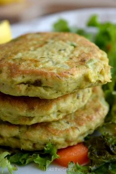 Avocado Salmon Cakes. Hey! Maybe I can hVe real bfast food on fish day!!