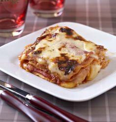 Photo de la recette : Lasagnes jambon raclette Pasta, Looks Yummy, Lasagna, Bread Recipes, Brunch, Food And Drink, Menu, Cooking, Ethnic Recipes