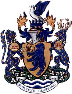 Coat of Arms of the Ontario Provincial Police | #OPP #heraldry