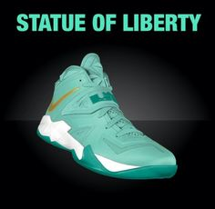 Lebron soldier 7 - Statue of liberty