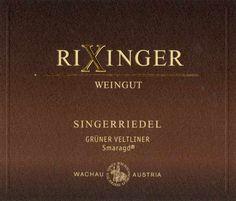 Grüner Veltliner Smaragd, Rixinger 2011, Wachau, Austria #plv