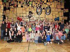 The cast of MATILDA celebrates its 500th performance!