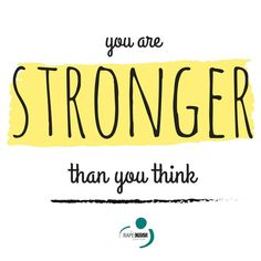 You are stronger than you think. #survivor #inspiration #strength  https://www.pinterest.com/pin/367817494542843771/