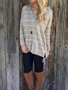 Desert Sand Sweater – Lola Jeannine