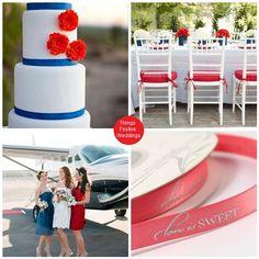 Things Festive Weddings & Events: Labor Day Wedding Theme