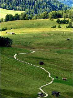 """The white ribbon..."", Trentino - Alto Adige, Italy"