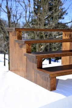 This listing is for one (1) cupcake stand display measuring approximately 23 1/2 w x 20 1/2 d x 12 3/4 h. Room for up to 64 standard sized cupcakes or whatever else you would like to display in rustic style! Need it bigger or smaller -- let me know! Please select your stain color! A