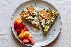 Sweet Potato + SpinachFrittata