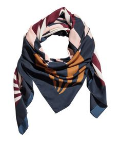 Patterned scarf | Product Detail | H&M