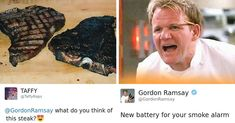 Funny Memes Pictures as Daily Dose - Page 5 of 16 - Time Of Geek Gordon Ramsay Twitter, Gordon Ramsay Funny, Chef Gordon Ramsay, Funny Cute, The Funny, Hilarious, Funny Lady, Lamb Sauce, Gordon Ramsey