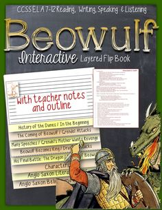 Beowulf: Interactive Layered Flip Book ($)
