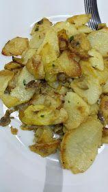 Cocina Basica y Fresca: PATATAS CON BERENJENA Y CALABACIN AL AJILLO CBF@