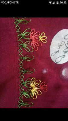 This post was discovered by Zeynep zeynep. Discover (and save!) your own Posts on Unirazi. Ribbon Embroidery, Embroidery Designs, Crochet Unique, Crochet Borders, Needle Lace, Lace Making, Vintage Fabrics, Baby Knitting Patterns, Knitting Socks