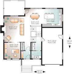 Contemporary Cottage Garage Plan 76395   Pinterest
