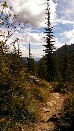 Pyramid Peak trail, Northern Idaho