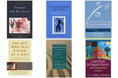 These 6 books are incredible. If you're beginning your trauma-informed education--or even if you've been working with individuals who have been traumatized for quite some time--the 5 books here are ideal for helping to create a powerful foundation of knowledge, inspiration and self-nourishment for therapists in this field.
