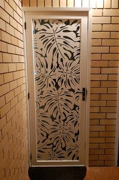 Project Gallery - Laser Cut Decorative Security Screens for Doors and Windows Steel Gate Design, House Gate Design, Door Gate Design, Main Door Design, Routeur Cnc, Wooden Front Door Design, Decorative Screen Panels, Jaali Design, Grill Door Design