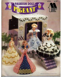 Fashion Doll Pageant Plastic Canvas Pattern by grammysyarngarden