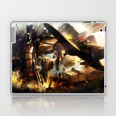 Another CO X PureHAY artist series -- Escape!!! Laptop & iPad Skin by Another-CO - $25.00
