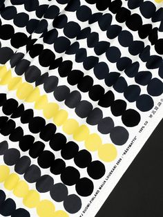 Marimekko Räsymatto (Rag rug) Pattern - Curtains for my new kitchen. <3