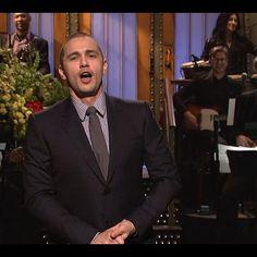 SNL December 6 with James Franco hosting.