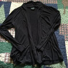 Cardigan It's long sleeved and black. Does have some piling JKLA california Sweaters Cardigans
