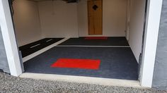 Garage, Flooring, Home Decor, Carport Garage, Decoration Home, Room Decor, Garages, Wood Flooring, Home Interior Design