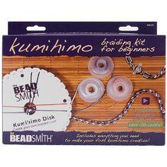 BEADSMITH The Bead Smith Kumihimo Starter Kit
