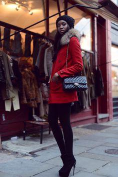 Bisous Natasha: Bring your coats out London !
