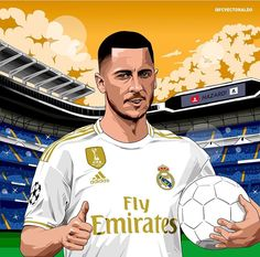 Excellent football player illustrations created by FCVectoraldo. Real Madrid Football Club, Football Icon, Real Madrid Players, Football Love, Football Design, Football Art, Soccer Art, Soccer Poster, Football Player Drawing