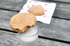 Single Lady/Single Serving Peanut Butter Cookie. You can have a peanut butter cookie or maybe 2. Can add chocolate chips if you wish. Applesauce used for this recipe.