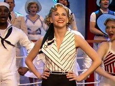 Sutton Foster - she won the Tony for ANYTHING GOES. Blessed that I got to see her in this show in NYC!