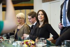 """On March 6, 2015, Crown Princess Mary of Denmark met with Danish Trade and Development Minister Mogens Jensen and the board which he has collected specifically to prepare for the world's largest women's conference """"Women Deliver"""" which is coming to Denmark next year."""