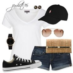 Cute summer outfit #casualsummeroutfits
