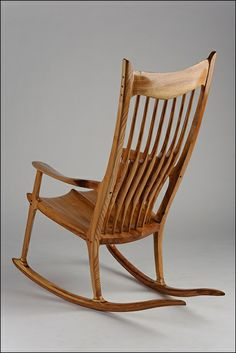 maloof sculpted sculpted rocking maloof rocking forward rocking chair ...