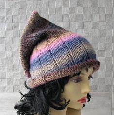 #Knit #Hats #Women Baggy #Bohemian hat #Handmade Unique Hat