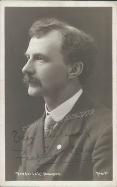 Dawson, Frederick - Signed Photo Postcard