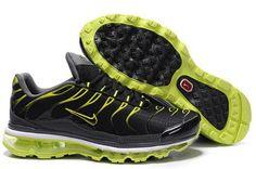 Nike Air Max Tn Mix Black Silvery Green