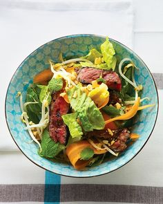 Thai-Style Steak Salad Recipe