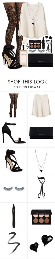 """#53"" by oneandonlyfashion ❤ liked on Polyvore featuring MANGO, STELLA McCARTNEY, Givenchy, Acca Kappa, Imagine by Vince Camuto, House of Harlow 1960, Napoleon Perdis, NARS Cosmetics, Lancôme and MAKE UP STORE"
