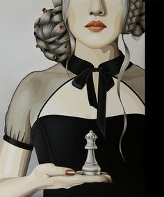 The Art of Duma | Paintings   The white  queen