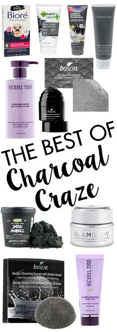 The Best of the Charcoal Craze! Get the scoop on our favorite charcoal beauty products!