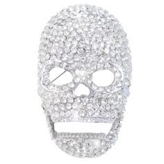 EVER FAITH Halloween Silver-Tone Skull Clear Austrian Crystal Brooch http://www.amazon.com/dp/B00AFCI7EE/ref=cm_sw_r_pi_dp_6PgUvb0E83WYP
