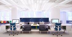 El Living Office más que un concepto es una forma de vida, una nueva forma de trabajar! #IluminaTuEspacio