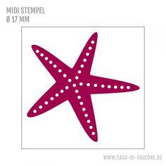 MIDI Motivstempel Seestern - Casa di Falcone