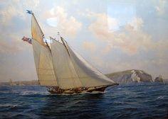 "19th Century Racing Yacht ""America"""