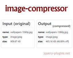 Image Compressor – Simple JavaScript Image Compressor #image #javascript #compress #imageCompressor #compressor