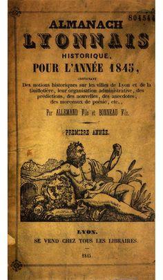 Almanach lyonnais historique pour l'année 1845 1846
